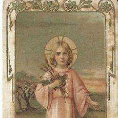 Postales: POSTAL FRANCESA CON RELIEVES DORADOS - NIÑO JESÚS - AÑOS 20 . Lote 170769485