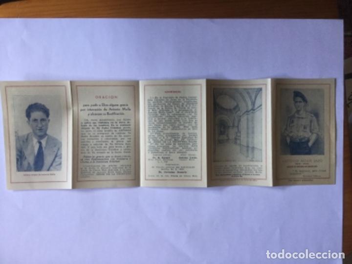 Postales: RECORDATORIOS ANTONIO MOLLE LAZO - Foto 3 - 170965933