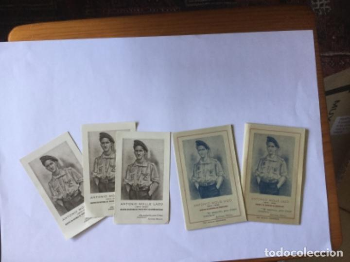 Postales: RECORDATORIOS ANTONIO MOLLE LAZO - Foto 5 - 170965933