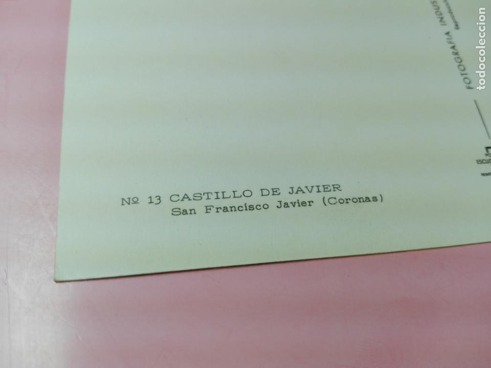 Postales: Postal-Castillo de Javier(Coronas)-1958-Ediciones FISA-Fotografía Industrial S.A.-Excelente-Ver fot - Foto 4 - 170983904