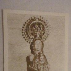 Postales: ANTIGUA ESTAMPA.ORACION,VIRGEN DE VALVANUZ.SELAYA.CANTABRIA. Lote 171210099