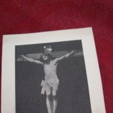 Postales: ANTIGUO RECORDATORIO, SANTÍSIMO, CRISTO DE GONJO. Lote 171511653
