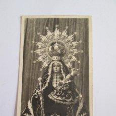 Postales: ESTAMPA FOTOGRAFICA VIRGEN - NUESTRA SEÑORA DE LINAREJOS - 1955 - 10X6 NOVENARIO PATRONA DE LINARES. Lote 171755315