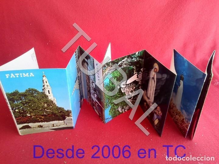 TUBAL 12 POSTALES FATIMA PORTUGAL VIRGEN EN ACORDEON ALBUM (Postales - Postales Temáticas - Religiosas y Recordatorios)