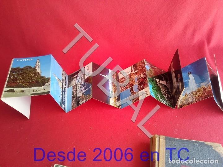 Postales: TUBAL 12 POSTALES FATIMA PORTUGAL VIRGEN EN ACORDEON ALBUM - Foto 2 - 171804525