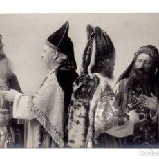 Postales: FOTO POSTAL PASION DE CRISTO - PASSIONSSPIEL CB OBERAMMERGAU 1910 - F. BRUCKMANN A.-G. MÜNCHEN.. Lote 171824855