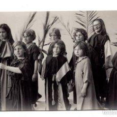 Postales: FOTO POSTAL PASION DE CRISTO - PASSIONSSPIEL CB OBERAMMERGAU 1910 - F. BRUCKMANN A.-G. MÜNCHEN.. Lote 171826152