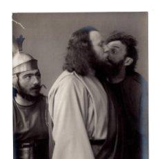 Postales: FOTO POSTAL PASION DE CRISTO - PASSIONSSPIEL CB OBERAMMERGAU 1910 - F. BRUCKMANN A.-G. MÜNCHEN.. Lote 171912599