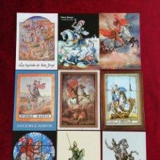 Postales: COLECCIÓN POSTALES SAN JORGE UNIVERSAL. SERIE 1. POSTALES 1-9. RBM. Lote 172298823