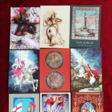 Postales: COLECCIÓN POSTALES SAN JORGE UNIVERSAL. SERIE 2. POSTALES 10-18. RBM. Lote 172299025