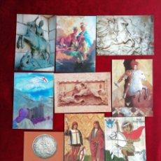 Postales: COLECCIÓN POSTALES SAN JORGE UNIVERSAL. SERIE 5. POSTALES 37-45. RBM. Lote 172299338