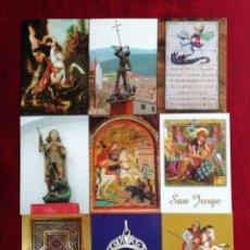 Postales: COLECCIÓN POSTALES SAN JORGE UNIVERSAL. SERIE 9. POSTALES 73-81. RBM. Lote 172300017