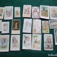 Postales: LOTE 22 RECORDATORIOS 1ª COMUNIÓN AÑOS 50. Lote 173365120