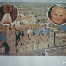 Postales: JUAN PABLO II VISITA A ZARAGOZA 1982. Lote 173595554