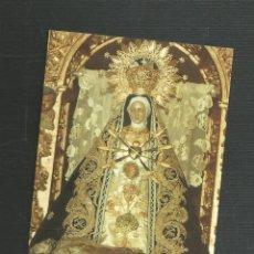 Postales: RECORDATORIO RELIGIOSO NTRA SRA DE LAS ANGUSTIAS PATRONA DE AREVALO Y COMARCA - AVILA. Lote 173682979