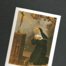 Postales: RECORDATORIO RELIGIOSO SANTA RITA DE CASIA. Lote 173682990