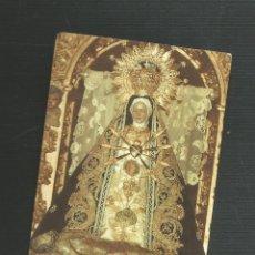 Postales: RECORDATORIO RELIGIOSO NTRA SRA DE LAS ANGUSTIAS AREVALO - AVILA. Lote 173683020