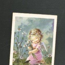 Postales: RECORDATORIO RELIGIOSO PRIMERA COMUNION SEGOVIA 1961. Lote 173683040