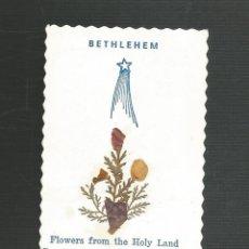 Postales: RECORDATORIO RELIGIOSO BETHLEHEM. Lote 173683047
