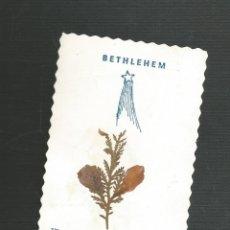 Postales: RECORDATORIO RELIGIOSO BETHLEHEM. Lote 173683053