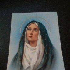 Postales: POSTAL RELIGIOSA. VIRGEN DE LOS DOLORES. Lote 174127979
