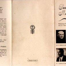 Postales: SANGRE DE MÁRTIRES - GUERRA CIVIL, TALAVERA DE LA REINA. Lote 174285865