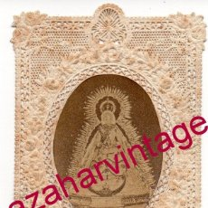 Postales: CARMONA, 1880, RARISIMA ESTAMPA DE NTRA.SRA.DE GRACIA, 50X84MM. Lote 174296842