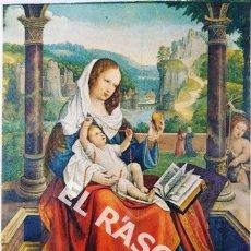 Postales: ANTIGUA POSTAL COLOR DE LA VIRGEN DEL CARMEN. Lote 174494277