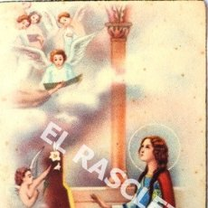 Postales: ANTIGUA POSTAL EN COLOR DE SANTA CECILIA PATRONA DE LOS MUSICOS. Lote 174587844