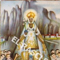 Postales: ANTIGUA POSTAL RELIGIOSA EN COLOR DE MONTSERRAT. Lote 174589078