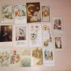 Postales: LOTE RECORDATORIOS RELIGIOSOS. Lote 175032129