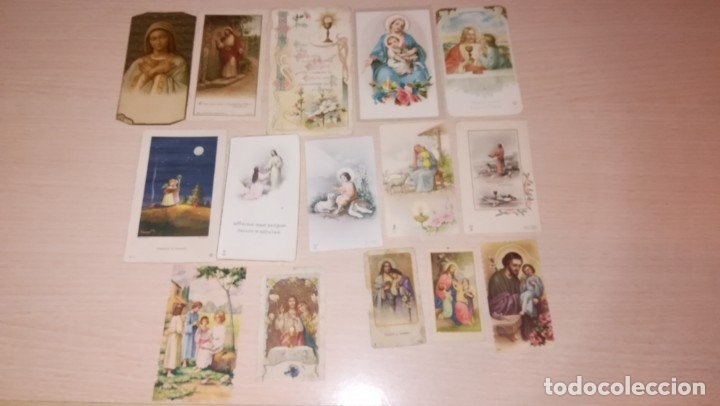 LOTE RECORDATORIOS RELIGIOSOS (Postales - Postales Temáticas - Religiosas y Recordatorios)