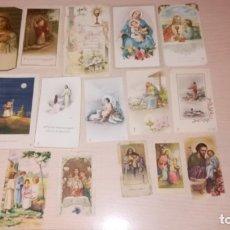 Postales: LOTE RECORDATORIOS RELIGIOSOS. Lote 175032210