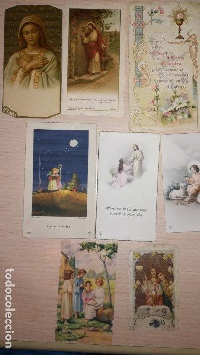 Postales: LOTE RECORDATORIOS RELIGIOSOS - Foto 3 - 175032210