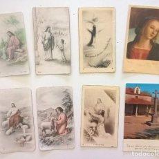 Postales: LOTE 8 ESTAMPAS RELIGIOSAS-RECORDATORIOS DE LA TOMA DE VOTOS-R.CONVENTO DE LA P.CONCEPCIÓN VICTORIA. Lote 175161717