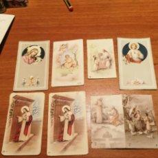 Postales: LOTE ESTAMPAS COMUNION 1954. Lote 175238928