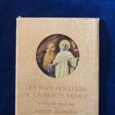 Postales: LES SEPT DOULEURS DE LA SAINTE VIERGE. Lote 175256639
