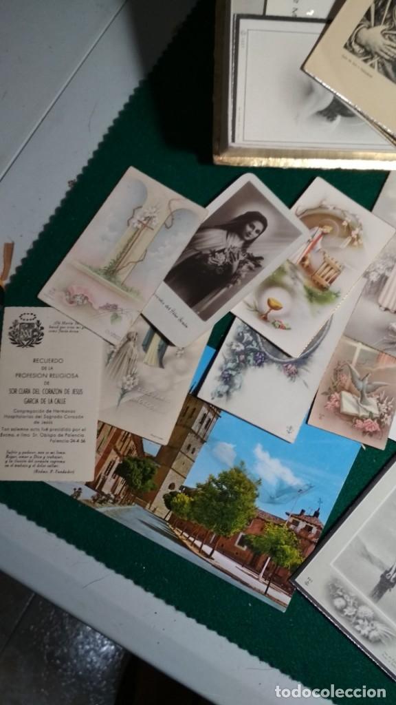 Postales: LOTE DE MAS DE 100 ESTAMPAS Y RECORDATORIOS VARIOS AÑOS DESDE LOS AÑOS 20-30 - Foto 5 - 175457794