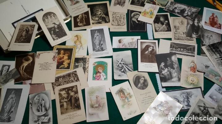 Postales: LOTE DE MAS DE 100 ESTAMPAS Y RECORDATORIOS VARIOS AÑOS DESDE LOS AÑOS 20-30 - Foto 6 - 175457794
