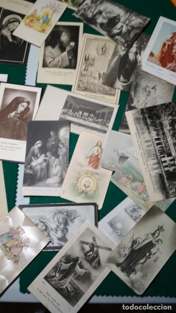Postales: LOTE DE MAS DE 100 ESTAMPAS Y RECORDATORIOS VARIOS AÑOS DESDE LOS AÑOS 20-30 - Foto 7 - 175457794