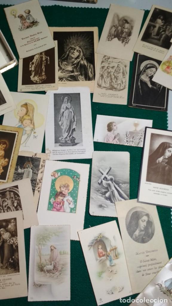 Postales: LOTE DE MAS DE 100 ESTAMPAS Y RECORDATORIOS VARIOS AÑOS DESDE LOS AÑOS 20-30 - Foto 8 - 175457794