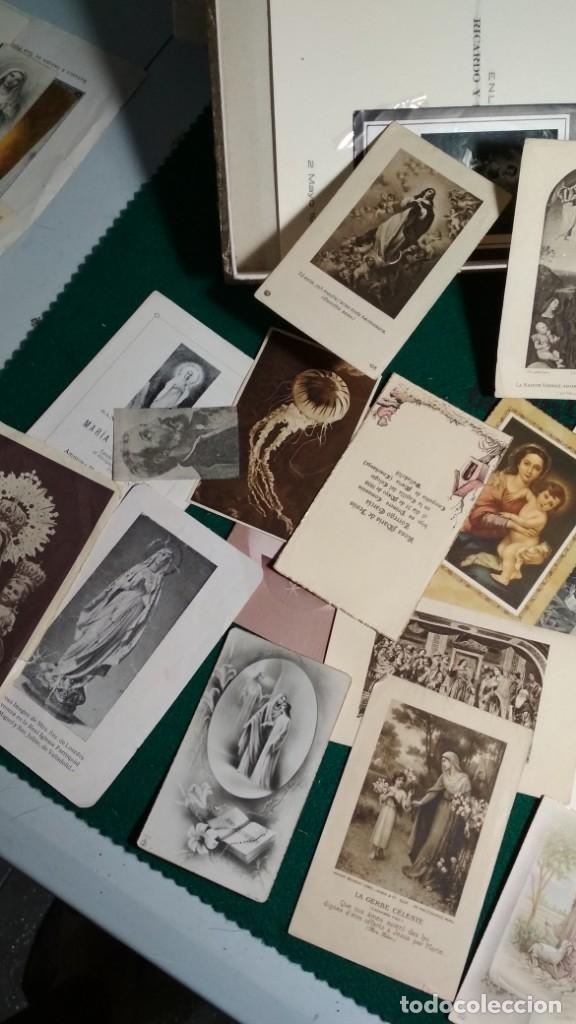 Postales: LOTE DE MAS DE 100 ESTAMPAS Y RECORDATORIOS VARIOS AÑOS DESDE LOS AÑOS 20-30 - Foto 9 - 175457794