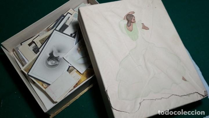 Postales: LOTE DE MAS DE 100 ESTAMPAS Y RECORDATORIOS VARIOS AÑOS DESDE LOS AÑOS 20-30 - Foto 10 - 175457794
