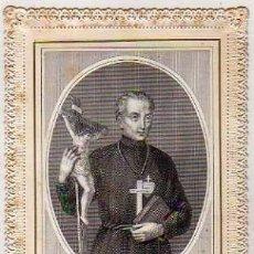 Postales: PRECIOSA ESTAMPA DE PUNTILLA SAINT PAUL DE LA CROIX. PARIS. BOSASE LEBEL 1520. Lote 175568807