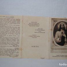 Postales: RECORDATORIA , RELIQUIA , DEL PADRE , RUBIO .. Lote 175625159