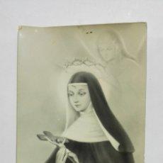 Postales: ESTAMPA RECUERDO DE LA SOLEMNE NOVENA DE SANTA RITA DE CASIA, MAYO 1963, JATIVA. Lote 175688983