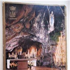 Postales: LOURDES. 63 LA GRUTA MILAGROSA. NUEVA. COLOR. VER FOTO. Lote 175755863