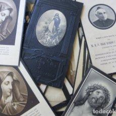 Postales: CONJUNTO 30 RECORDATORIOS DE DEFUNCION AÑOS 20. Lote 175785419