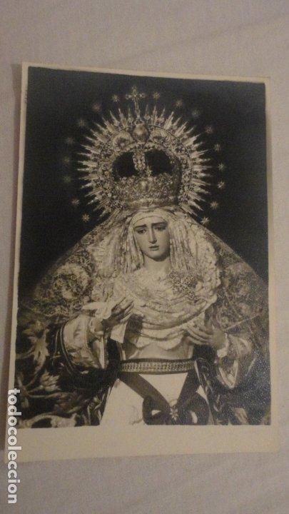 RECUERDO SOLEMNE SEPTENARIO.VIRGEN DE LA HINIESTA.SAN JULIAN.SEVILLA 1963 (Postales - Postales Temáticas - Religiosas y Recordatorios)