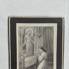 Postales: RECORDATORIO SIGLO XIX: SEÑOR FALLECIDO EN 1882, MÁLAGA. Lote 175930730